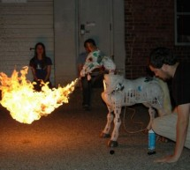 Make a Fire Breathing Animetronic Pony from FurReal Butterscotch or S'Mores usnig arduino