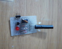 Make an Attiny13 based IR proximity sensor