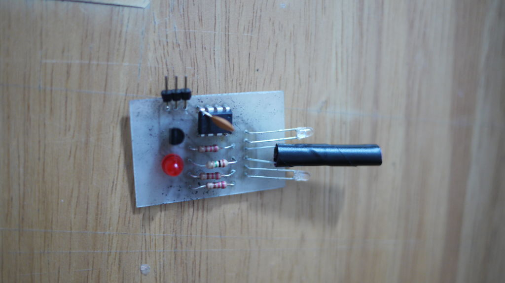 Make an Attiny13 based IR proximity sensor
