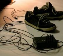 Musical MIDI Shoes using arduino