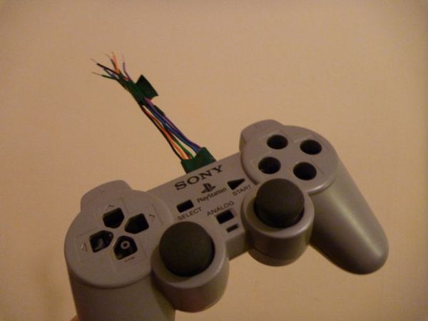 PS1 Controller Joysticks with Arduino
