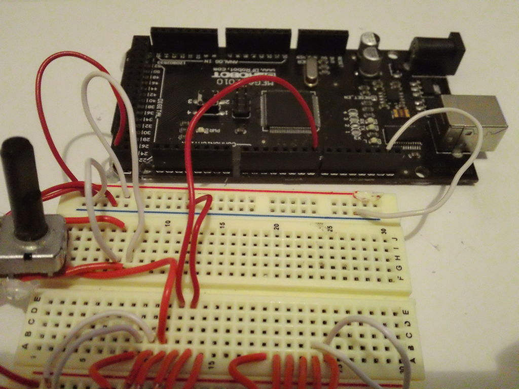 Password access with arduino circuit