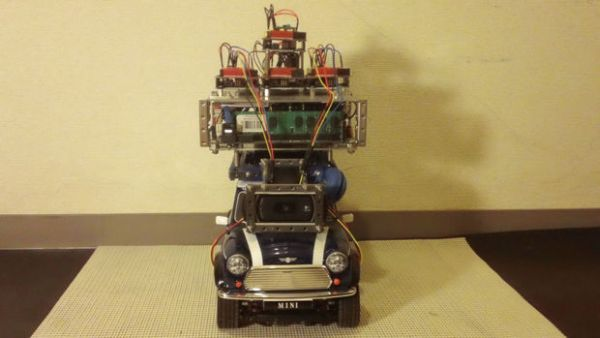 Programmed Automatic Driving Car