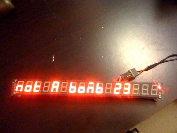 Self-contained 16-Digit display - Arduino & Attiny85 -Use Arduino