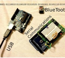 Serial Communications with Arduino using arduino