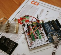 Solderless Breadboard Layout Sheets (plug and play electronics) using arduino