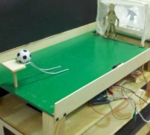 Tabletop Soccer Game using arduino