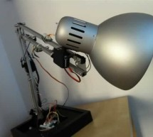 The IKEA Robot Lamp using arduino