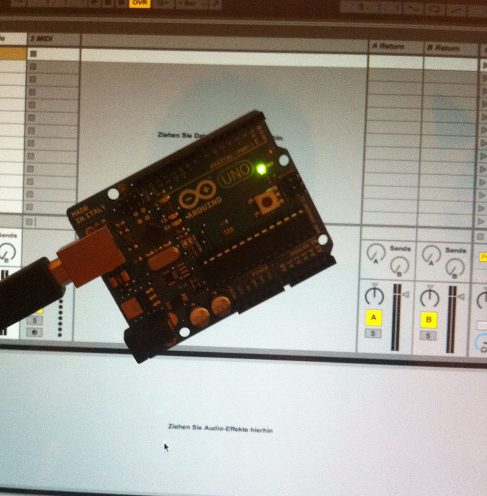 Turn your arduino uno into an usb hid mididevice use