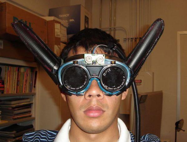 Ultrasonic Batgoggles