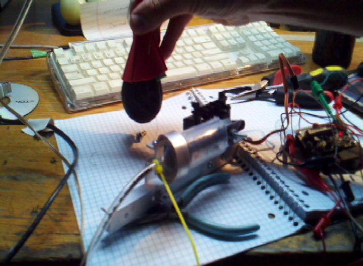 Universal Gripper - Syringe Powered circuit