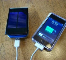 How to make a solar iPod/iPhone charger -aka MightyMintyBoost using arduino