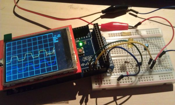 A Simple Diy Oscilloscope With Arduino Uno And Mega Use