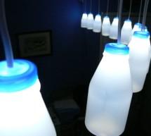 Addressable Milk Bottles (LED Lighting + Arduino) using arduino