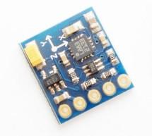 Arduino + Compass Module 3-Axis HMC5883L