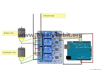 Groovy Solar Tracker Relay Circuit Using Arduino Use Arduino For Projects Wiring Cloud Hisonuggs Outletorg