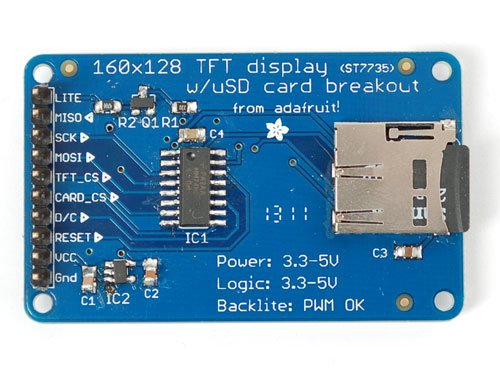 TFT Display with microSD