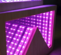 Temperature-Sensitive Infinity Mirror using arduino