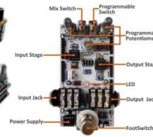 pedalSHIELD Arduino Guitar Pedal