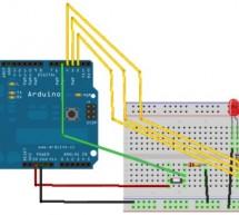 Arduino Binary Die using arduino