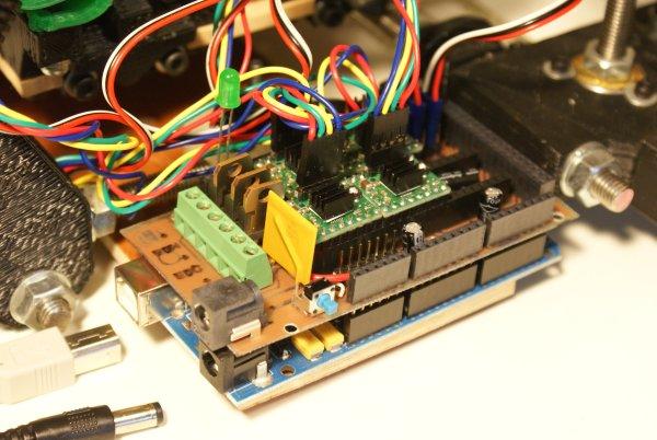 Arduino Mega Pololu Shield
