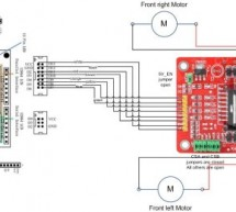 Arduino robot kit – Wiring Diagram