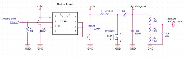 Boost Converter Intro with Arduino