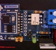 ESP8266 WIFI Web Power Switch for MAINS