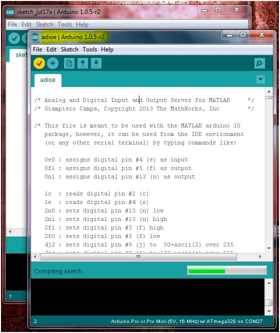 Home Automation using Arduino and MATLAB