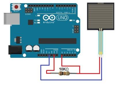 How to Build a Simple Force Sensing Resistor (FSR) Circuit