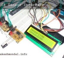 Interface single and Dual IR Infrared sensor with Arduino and LCD