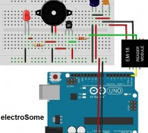 Interfacing EM-18 RFID reader with Arduino Uno
