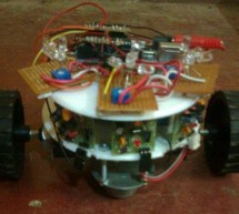 Light and obstacle detecting bot using arduino