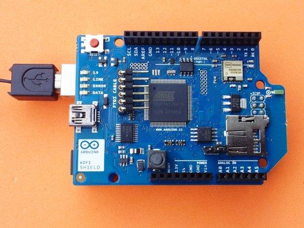 New Arduino WiFi Shield (Testing)