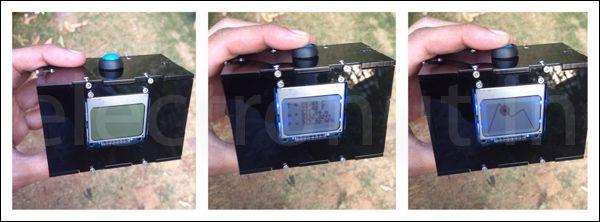 Pressure Display using BMP180