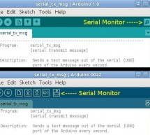 Using the Arduino Serial Port