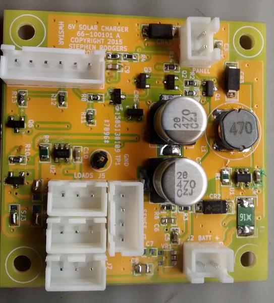 6 Volt 5 Watt solar charge controller
