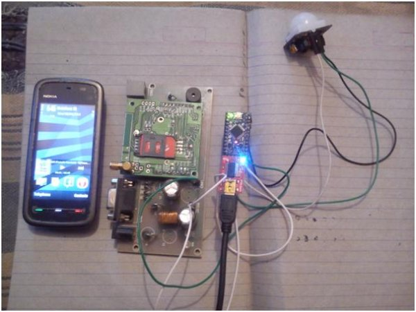 Arduino Based Security System Using Gsm Amp Pir Sensor Use