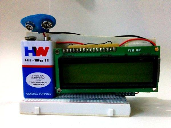Arduino Fridge Magnet