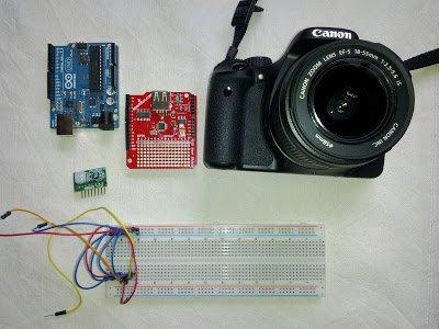 Arduino passive IR trigger for Canon EOS