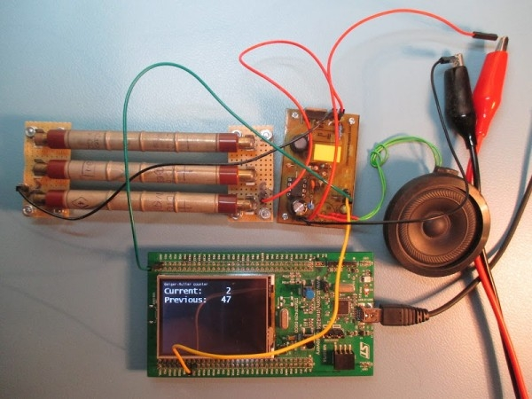 Geiger–Müller counter that can work with Arduino or (almost) any evaluation board