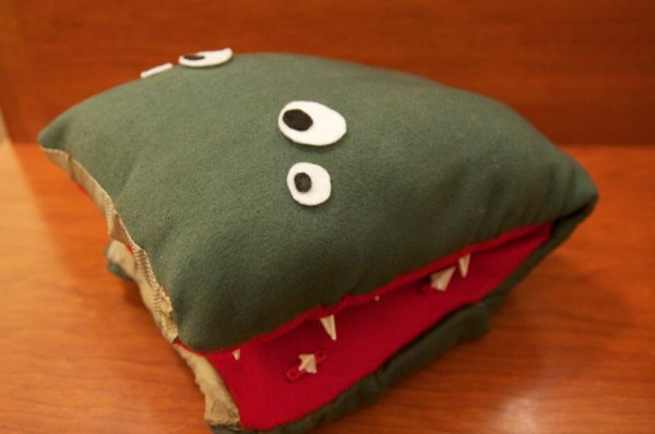 1B – Arduino Project – Perry the Predator Pillow