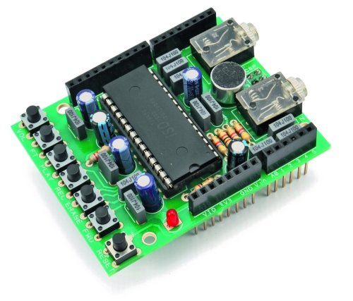A Voice Shield for Arduino – Give Voice to your Ideas!