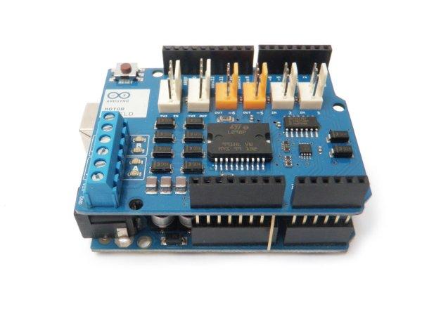 Arduino Controlled Robotic Drum Schematic