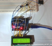 Arduino DS1307 Clock
