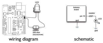 Arduino Lab 2 - Morse Code Generator Schematic