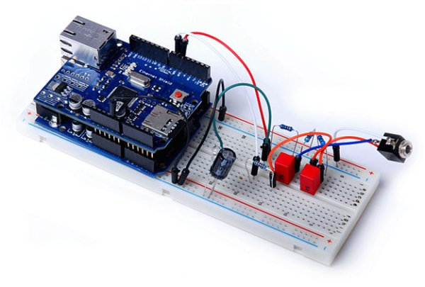 Arduino Project 6 Web-controlled music player