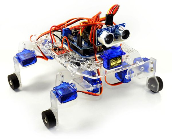 Arduino project stompy the robot part use