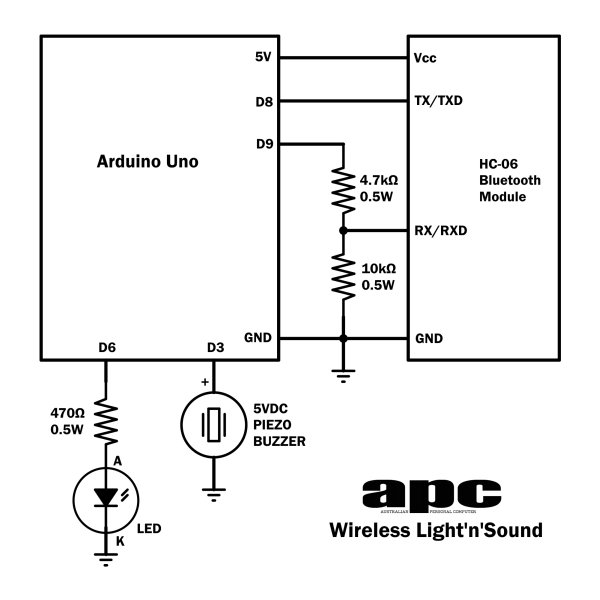 Arduino Projects  Wireless Arduino Schematic