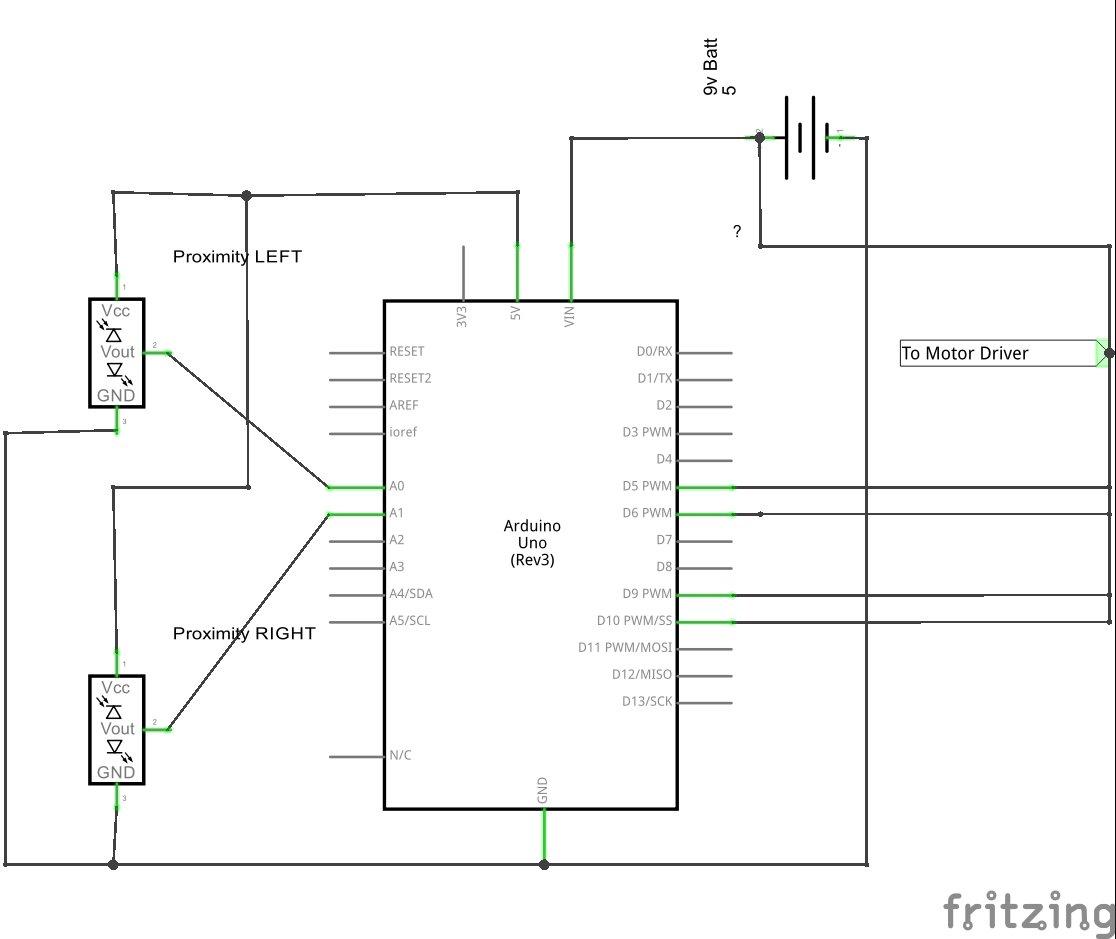 Autonomous Robot Part 3 Ghosty Schematic